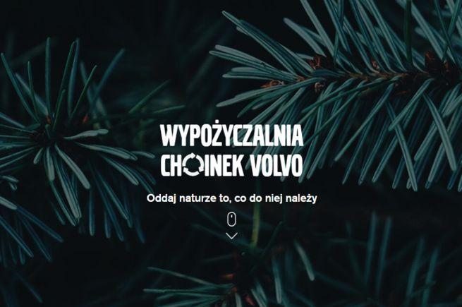wypożyczalnia-choinek-volvo-kampanie-świąteczne